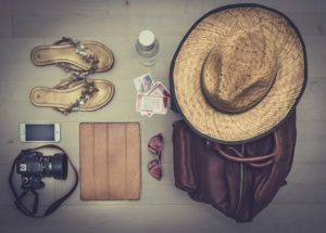 neceser de viaje para los cuidados de la piel